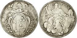World Coins - Coin, ITALIAN STATES, PAPAL STATES, Pius VII, Scudo, 1800, , Silver