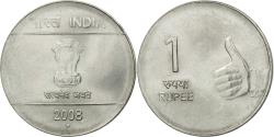World Coins - Coin, INDIA-REPUBLIC, Rupee, 2008, , Stainless Steel, KM:331