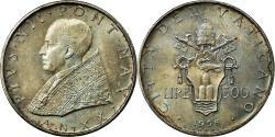 World Coins - Coin, VATICAN CITY, Pius XII, 500 Lire, 1958, Roma, , Silver, KM:56