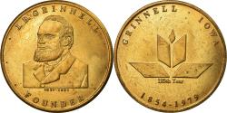 Us Coins - United States of America, Medal, 125 Years, Grinnel Iowa, 1979,