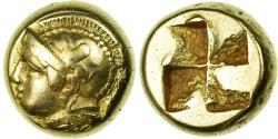Ancient Coins - Coin, Ionia, Phokaia, Hekte, AU(50-53), Electrum, SNG Cop:1028