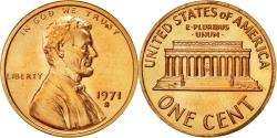 Us Coins - Coin, United States, Lincoln Cent, Cent, 1971, U.S. Mint, San Francisco,