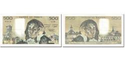 World Coins - France, 500 Francs, Pascal, 1979, 1979-06-07, VF(30-35), Fayette:71.19, KM:156d