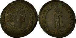 Ancient Coins - Coin, Fausta, Nummus, Ticinum, AU(55-58), Copper, Cohen:17