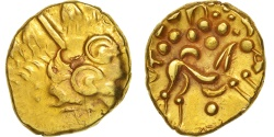 Ambiani, Area of Amiens, Stater, , Gold, Delestré:161