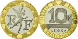 World Coins - Coin, France, Génie, 10 Francs, 1988, BE, , Gold, Gadoury:827