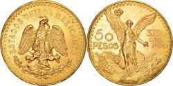 World Coins - Coin, Mexico, 50 Pesos, 1944, Mexico City, , Gold, KM:481