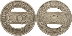 Us Coins - United States, Token, Club Transport Corporation