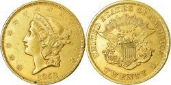 Us Coins - Coin, United States, Liberty Head, $20, Double Eagle, 1852, Philadelphia