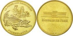 World Coins - France, Token, Touristic token, Pierrelatte - Ferma aux crocodiles n°1, 1996