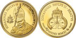 World Coins - Vatican, Medal, La Béatification de jean-Paul II, 2011, , Gold