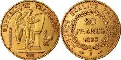 Coin, France, Génie, 20 Francs, 1893, Paris, , Gold, KM:825