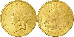 Us Coins - Coin, United States, Liberty Head, $20, 1875, San Francisco, Gold,