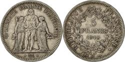World Coins - Coin, France, Hercule, 5 Francs, 1848, Lyons, EF(40-45), Silver, KM:756.3