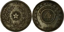 World Coins - Coin, Paraguay, 4 Centesimos, 1870, , Copper, KM:4.1