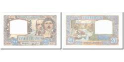 World Coins - France, 20 Francs, Science et Travail, 1941, 1941-07-17, UNC(65-70)
