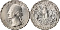 Us Coins - Coin, United States, Washington Quarter, Quarter, 1974, U.S. Mint, Philadelphia