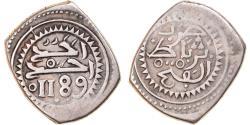 World Coins - Coin, Morocco, Muhammed III, Mitqal, 10 Dirhams, 1775 (AH 1189), Rabat al-Fath