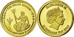 Ancient Coins - Coin, Fiji, Elizabeth II, 10 Dollars, 2010, , Gold, KM:224