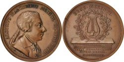World Coins - Italy, Medal, Aloisio Marchesius, Milan, Arts & Culture, 1785,