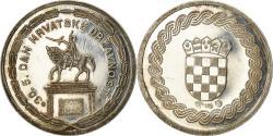 World Coins - Croatia, Medal, San Josif Jelacic, Politics, Society, War, , Silver