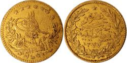 World Coins - Coin, Turkey, Abdul Aziz, 25 Kurush, 1870, Qustantiniyah, , Gold