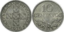 World Coins - Coin, Portugal, 10 Centavos, 1976, , Aluminum, KM:594