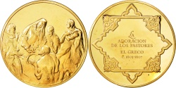 World Coins - Spain, Arts & Culture, Medal, , Bronze, 81.00