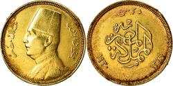 World Coins - Coin, Egypt, Fuad I, 20 Piastres, 1930, British Royal Mint, , Gold