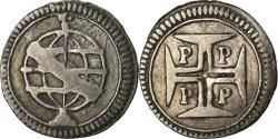 World Coins - Coin, Portugal, 20 Reis, Vinten, Undated (1688), Porto, , Silver