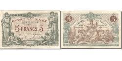 World Coins - Banknote, Belgium, 5 Francs, 1921, 1921-01-03, KM:75b, EF(40-45)