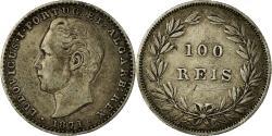 World Coins - Coin, Portugal, Luiz I, 100 Reis, 1871, , Silver, KM:510