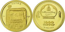 Ancient Coins - Coin, Mongolia, 1000 Togrog, 2008, , Gold