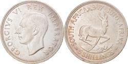 World Coins - Coin, South Africa, George VI, 5 Shillings, 1947, , Silver, KM:31
