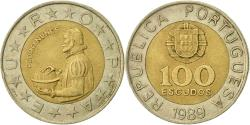 World Coins - Portugal, 100 Escudos, 1989, , Bi-Metallic, KM:645.1