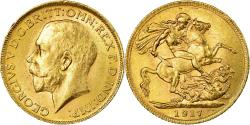 World Coins - Coin, Canada, George V, Sovereign, 1917, Royal Canadian Mint, Ottawa,