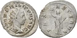 Ancient Coins - Coin, Philip II, Antoninianus, 247, Roma, , Billon, RIC:227