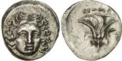 Ancient Coins - Caria, Rhodes, Drachm, Hermias Magistrate, , Silver, SNG Keckman:793