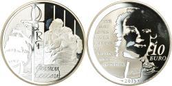World Coins - France, Monnaie de Paris, 10 Euro, Manon Lescaut, 2015, Proof, , Silver