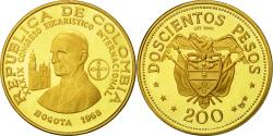 World Coins - Coin, Colombia, 200 Pesos, 1968, , Gold, KM:232