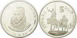World Coins - Spain, Juan Carlos I, 5 Ecu, 1994, Madrid, , Silver, KM:M46