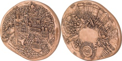 World Coins - FRANCE, Geography, The Fifth Republic, Medal, , Roch, Copper, 100,...