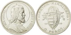 World Coins - Coin, Hungary, 5 Pengö, 1938, Budapest, MS(60-62), Silver, KM:516
