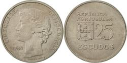 World Coins - Portugal, 25 Escudos, 1985, , Copper-nickel, KM:607a