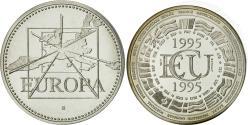 World Coins - France, Medal, Ecu Europa, 1995, Jimenez, , Silver