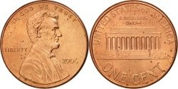 Us Coins - United States, Lincoln Cent, Cent, 2006, U.S. Mint, Philadelphia,