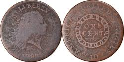 Us Coins - Coin, United States, Flowing Hair Cent, Cent, 1793, U.S. Mint, Periods