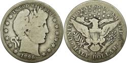Us Coins - Coin, United States, Barber Half Dollar, Half Dollar, 1896, U.S. Mint