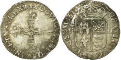 World Coins - Coin, France, Louis XIII, 1/4 Écu de Béarn, 1/4 Ecu, 1611, Morlaas,