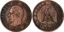 World Coins - Coin, France, Napoleon III, Napoléon III, Centime, 1855, Rouen,
